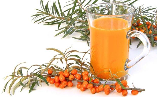 sanddorn saft vitamin c gesundheit schaffhausen